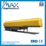3 반 차축 연료 트럭 트레일러 40000L 등유 납품 트레일러 40cbm 원유 탱크