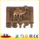 Magnete magnetico del frigorifero del metallo dell'Egitto del punto scenico