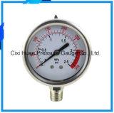 高品質圧力Meter/304stainless鋼鉄圧力計