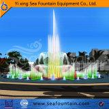 Fontaine personnalisée multicolore de musique de taille avec des éclairages LED
