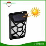 66 LED-im Freien wasserdichte Zaun-Licht-Pfad-Tanzen-Flamme-Wand-Solarbeleuchtung