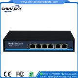 4poe + 2RJ45アップリンクPoe力のネットワークスイッチ(POE0420BN)