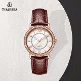 숙녀 71354를 위한 주문 로고 여자 석영 시계 형식 손목 시계