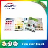 Services d'impression d'OEM pour la brochure de tableau d'ombre de couleur de peinture de mur