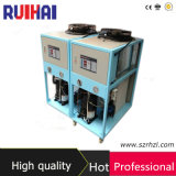 Hohe Effeciency Luft abgekühlte abkühlende Kapazität 11990kcal/H des Kühler-13.95kw/4ton für für Kunststoffstrangpresßling-Industrien