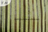 2016本の縦縞のジャカードソファーおよび椅子ファブリック(FTH31798)