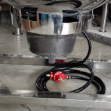 Chaleira Jacketed sanitária com o misturador que cozinha o potenciômetro do xarope do potenciômetro de atolamento