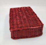 고품질 자연적인 Handmade 빨강 버드나무 바구니 (BC-WB19)