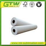 75 gramos de transferencia por sublimación de tamaño del rollo de papel de alta velocidad de transferencia