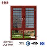 Ahorro de espacio con la ventana de aluminio del acoplamiento de la seguridad
