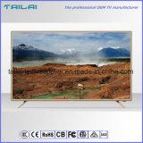 """An der Wand befestigter 40 """"super dünner DVB-S2 Digital LED Fernsehapparat Hevc H. 265 Scart"""