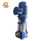 Pompe chimique verticale à plusieurs étages hypersustentatrice d'acier inoxydable