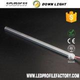 L'éclairage LED linéaire de DEL de lumière rigide de barre pour des étagères de marchandises vendent l'étalage au détail de bruit de dispositif