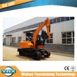 Fabricado en China una alta calidad Yrx65-4Excavadora de ruedas L