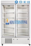 Refrigerador médico de la calidad de gama alta del más nuevo modelo (HEPO-U660)
