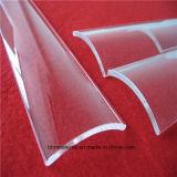 Todos los tamaños personalizados Arh la forma de hoja de cristal de cuarzo.