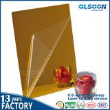 zilveren Spiegel van de Make-up PMMA van de Spiegel van het Decor van het Huis van de Spiegel van de Muur van 0.86mm de Decoratieve Acryl Plastic
