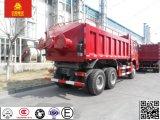 力336HP Sinotruk HOWO 8*4のダンプカーの/Dumpのトラックを40トン証明しなさい