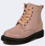 La chaussure en gros de gosse de la Chine badine l'hiver court des gaines 2017 de fille d'unité centrale de rose de gaine