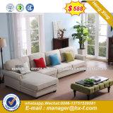 Design de Moda Madeira grossista dentro do sofá de couro conjuntos (HX-SN8053)