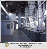 Linha de produção avançada estufa giratória do pó da gipsita da tecnologia