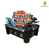 Машина видеоигры 8 рыб забастовки леопарда машины игроков умелая играя в азартные игры