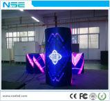 Coluna redonda curva suave flexível Visor LED