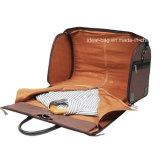 Высокое качество горячая продажа 17 дюйма нейлоновая сумка из натуральной кожи во время деловой поездки по пошиву одежды многофункциональный дорожный футляр подходит для подушки безопасности