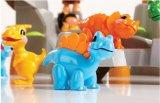 La Figure animale colorés avec des enfants de petite taille Toy