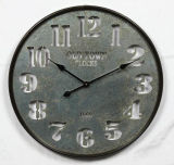 Horloge de mur à la maison en métal d'antiquité de décoration de mode