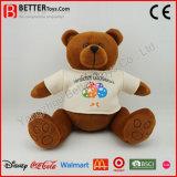 Gevulde Stuk speelgoed van de Pluche van de Teddybeer van de bevordering het Bruine Zachte Dier