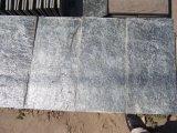 Mattonelle grige poco costose all'ingrosso della pietra della parete del granito da vendere