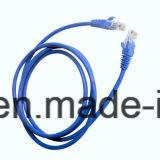 Шнур заплаты LAN Cat5e сети с разъемом RJ45