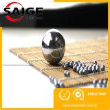 Essai d'impact G100 de 6mm bille en acier inoxydable plaqué nickel