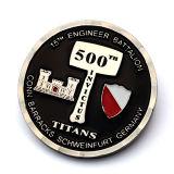Nouveau meilleur souvenir de la qualité de métal de la conception de l'aviation double face Hawks Coin