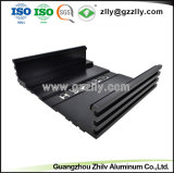 Espulsione di alluminio di profilo di alluminio della lega di alluminio 6063t5 per l'audio dell'automobile