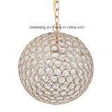 De moderne Lamp van de Tegenhanger van de Kroonluchter van het Kristal voor Restaurant