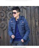 Revestimentos novos do estofamento do inverno dos homens do estilo da forma