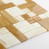 中国の卸し売り自然な汚された台所床ガラスはモザイクをタイルを張る