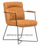 직물에 의하여 덮개를 씌우는 거실 의자