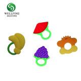 Силиконовый малыша фруктов прорезыватель с Apple форму земляники садовой формы и винограда форма