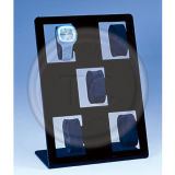 La vigilanza quadrata della visualizzazione di EVA dei fori di condizione 5 ha disposto il basamento di plastica della vigilanza