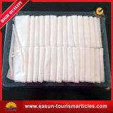Tovaglioli pesanti di bianco del bagno dell'hotel del cotone a gettare