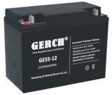 12V 55Ah rechargeable au plomb étanche Gel solaire à cycle profond Président de la batterie de roue
