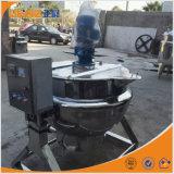 アジテータ価格のJacketed調理のやかんを傾けるステンレス鋼のオイルか蒸気