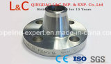 Flange do bocal de soldagem de aço carbono DIN