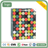 Polka PUNKT Muster-Form-Bekleidungsgeschäft-Kunst-Geschenk-Papierbeutel
