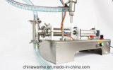 Máquina de rellenar de las boquillas del vino de la soda líquida plástica doble de la botella