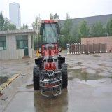 Cargador Oj-16 del frente del ventilador de nieve Zl16 con los dispositivos de protección en caso de volcamiento