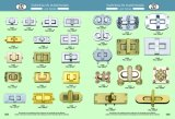 Blocage personnalisé de torsion de blocage de spire de guindineau d'argent de forme pour la bourse